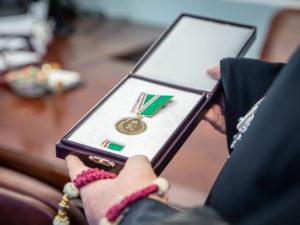 Патриаршей медалью награждена руководитель Роспотребнадзора по УР
