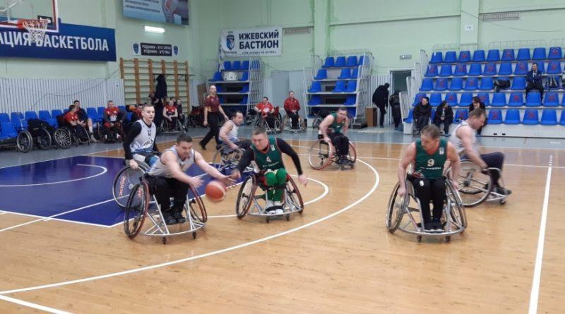 В Ижевске прошел рождественский турнир по баскетболу на колясках