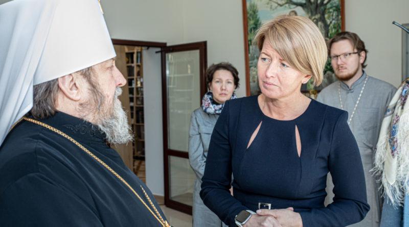 Митр. Викторин встретился с министром сельского хозяйства Удмуртии