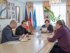 Состоялась рабочая встреча по восстановлению Благовещенского собора г. Воткинска