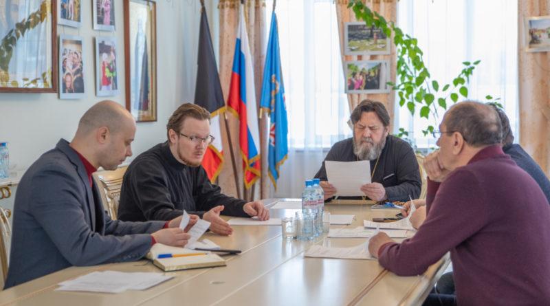 Заседание рабочей группы по восстановлению Благовещенского собора г. Воткинска