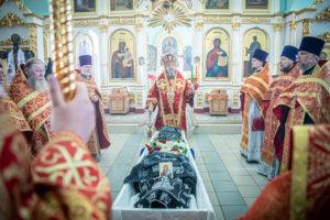 Состоялось отпевание настоятельницы Успенского монастыря с. Перевозное