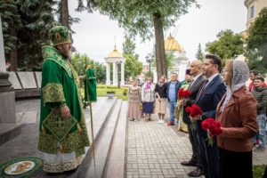 В День города в Ижевске совершили панихиду возле усыпальницы А.Ф. Дерябина